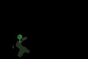 美利河ダム湖